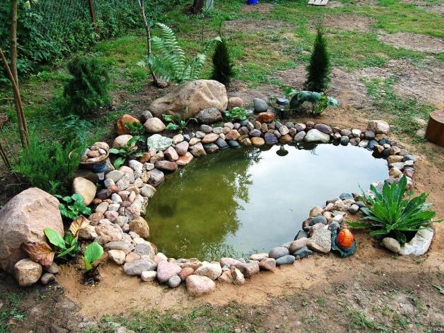 Как построить своими руками пруд на даче
